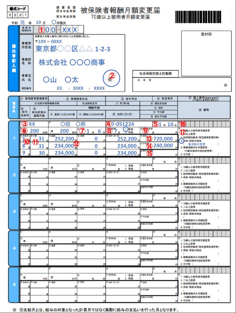 年金 基礎 届 日本 機構 算定